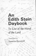 Edith Stein Daybook