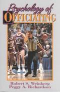 PSYCHOLOGY OF OFFICIATING (P)