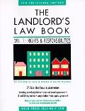 Landlord's Law Book Rights and Responsibilities  California Edition
