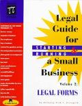 Legal Guide for Starting & Running a Small Business Legal Forms