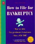 How to File for Bankruptcy - Stephen R. Elias - Paperback - 7TH