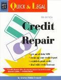 Credit Repair - Robin Leonard - Paperback
