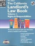 California Landlord's Law Book: Rights and Responsibilities, Vol. 1 - David Wayne Brown - Ha...
