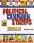 Political Campaign Stamps - Mark Warda - Paperback