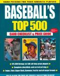 Baseball's Top 500: Card Checklist and Price Guide - Sports Collectors Digest - Paperback