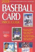 2001 Baseball Card Price Guide - Price Guide Editors of Sports Collectors - Paperback - 15TH