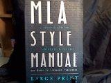 MLA Style Manual and Guide to Scholarly Publishing, 2nd Edition