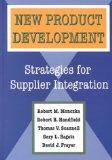 New Product Development: Strategies for Supplier Integration