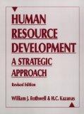 Human Resource Development: A Strategic Approach