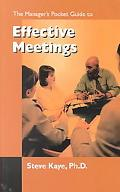Manager's Pocket Guide to Effective Meetings