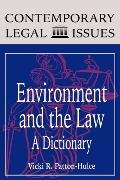Environment and the Law: A Dictionary