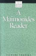 Maimonides Reader