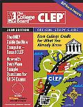 Clep Official Study Guide 2004
