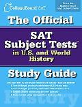 Official SAT Subject Tests in U.S. History and World History