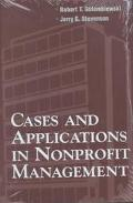 Cases & Applications in Nonprofit Management