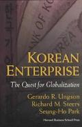 Korean Enterprise The Quest for Globalization