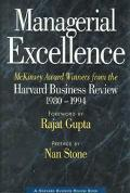 Managerial Excellence McKinsey Award Winners from the Harvard Business Review, 1980-1994