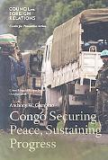 Congo: Securing Peace, Sustaining Progress