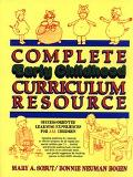 Complete Early Childhood Curriculum Resource Success-Oriented Learning Experiences for All C...