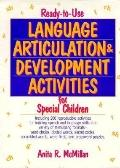 Ready-to-Use Language Articulation & Development Activities for Special Children