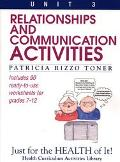 Relationships and Communication Activities Includes 90 Ready-To-Use Worksheets for Grades 7-12