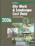 Site Work and Landscape Cost Data - Eugene R. Spencer - Paperback