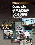 2007 Means Concrete/Masonry Cost Data