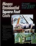 Contractor's Pricing Guide 2007 Means Residental Square Foot Costs