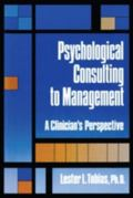 Psychological Consulting to Management