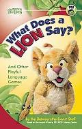 What Does a Lion Say? : And Other Playful Language Games