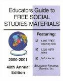 Educators Guide to Free Social Studies Materials 2001-2002