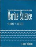 Teacher's Manual With Answers Marine Science