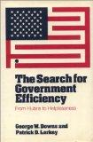 The Search for Government Efficiency: From Hubris to Helplessness