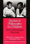 Studies in Philosophy for Children Harry Stottlemeier's Discovery