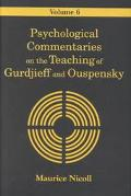 Psychological Commentaries on the Teaching of Gurdjieff and Ouspensky Index