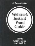 Websters Instant Word Guide