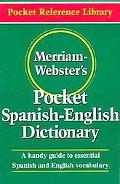 Merriam-Webster's Pocket Spanish-English Dictionary