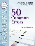 50 Common Errors: A Practical Guide for English Learners