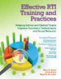 Effective RTI Training and Practices: Helping School and District Teams Improve Academic Per...