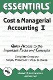 Cost & Managerial Accounting I Essentials (Essentials Study Guides)