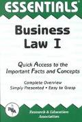 Essentials of Business Law I