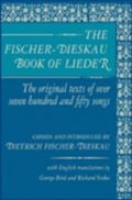 Fischer-Dieskau Book of Lieder The Original Texts of over 750 Songs