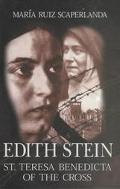 Edith Stein St. Teresa Benedicta of the Cross