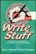 Write Stuff Evaluations of Graphology-The Study of Handwriting Analysis