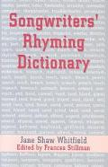Songwriters Rhyming Dictionary