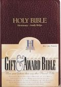 King James Version Gift and Award Burgundy Imitation Leather/463404