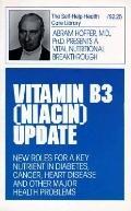 Vitamin B3 Niacin  Update