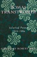 Tomas Transtromer Selected Poems 1954-1986
