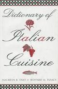 Dictionary of Italian Cuisine