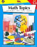 Math Topics, Grades 3 to 4